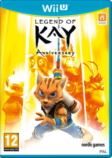 Диск Legend of Kay Anniversary (Б/У) [Wii U]