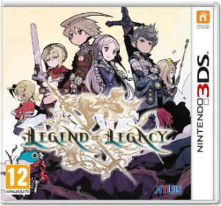 Диск Legend of Legacy [3DS]