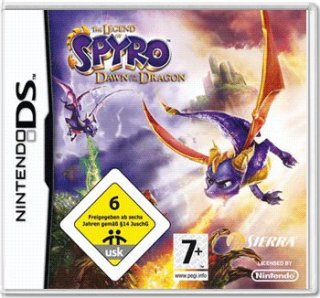 Диск Legend of Spyro: Dawn of the Dragon [DS]