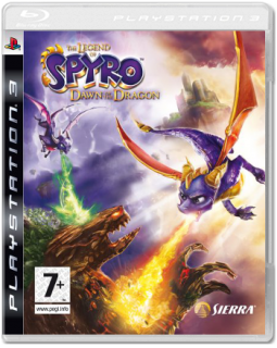 Диск Legend of Spyro: Dawn of the Dragon [PS3]
