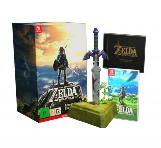 Диск Legend of Zelda: Breath of the Wild - Special Edition [NSwitch]