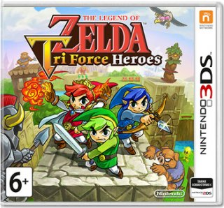 Диск Legend of Zelda: Tri Force Heroes [3DS]