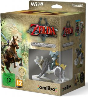 Диск Legend of Zelda: Twilight Princess HD - Limited Edition [Wii U]