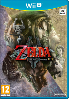 Диск Legend of Zelda: Twilight Princess HD (Б/У) [Wii U]
