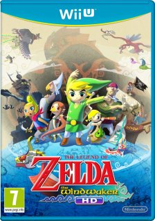 Диск Legend of Zelda: The Wind Waker HD (Б/У) [Wii U]