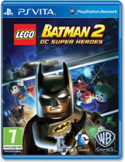 Диск LEGO Batman 2: DC Super Heroes (без обложки) (Б/У) [PS Vita]