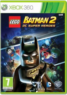 Диск LEGO Batman 2: DC Super Heroes (Б/У) [X360]
