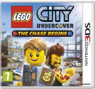 Диск Lego City Undercover: The Chase Begins [3DS]