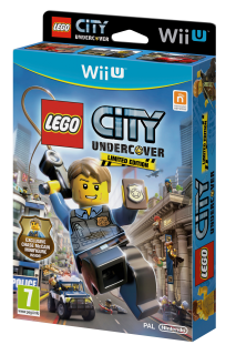 Диск LEGO City Undercover - Limited Edition [Wii U]