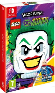 Диск LEGO DC Super-Villains - Deluxe Edition [NSwitch]