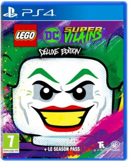 Диск LEGO DC Super-Villains - Deluxe Edition [PS4]