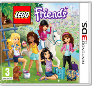 Диск LEGO Friends [3DS]