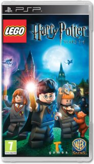 Диск LEGO Harry Potter: Year 1-4 [PSP]