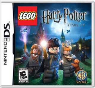 Диск LEGO Harry Potter: Year 1-4 (Б/У) (без коробочки) [DS]