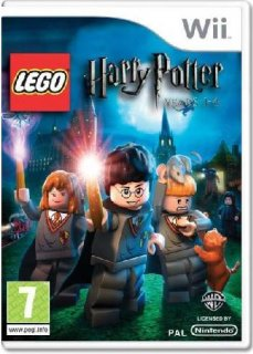 Диск LEGO Harry Potter: Year 1-4 [Wii]