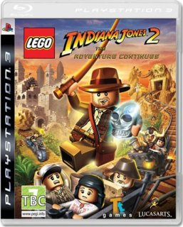 Диск LEGO Indiana Jones 2: The Adventure Continues [PS3]