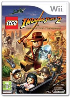 Диск LEGO Indiana Jones 2: The Adventure Continues [Wii]