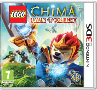 Диск LEGO Legends of Chima: Laval's Journey [3DS]