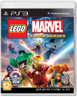 Диск LEGO Marvel Super Heroes [PS3]