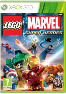 Диск LEGO Marvel Super Heroes (Б/У) [X360]