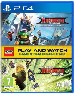 Диск LEGO Ninjago Movie Game: Videogame + LEGO Ninjago Movie [PS4]