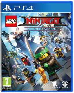 Диск LEGO Ninjago Movie Game: Videogame [PS4]