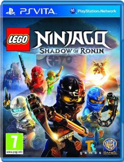 Диск LEGO Ninjago: Shadow of Ronin (Б/У) [PS Vita]