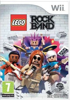 Диск LEGO Rock Band [Wii]