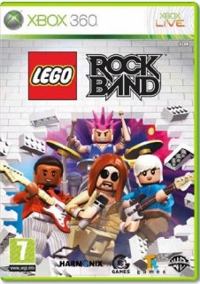 Диск LEGO Rock Band (Б/У) (не оригинальная полиграфия) [X360]