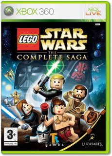 Диск LEGO Star Wars: The Complete Saga [X360]