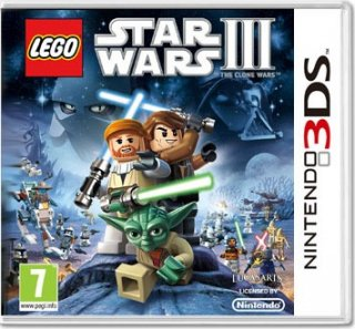 Диск LEGO Star Wars III: The Clone Wars (Б/У) (без коробочки) [3DS]