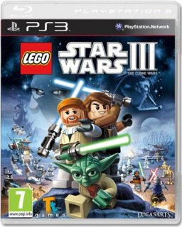 Диск LEGO Star Wars III: The Clone Wars [PS3]