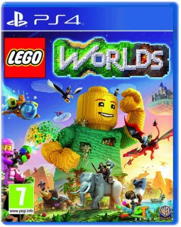 Диск LEGO Worlds [PS4]