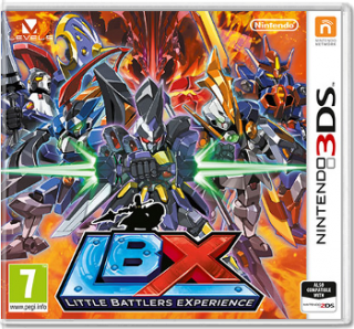 Диск Little Battlers eXperience (Б/У) (без коробочки) [3DS]