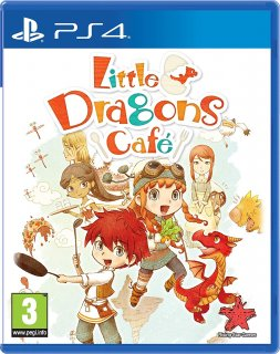 Диск Little Dragons Cafe [PS4]
