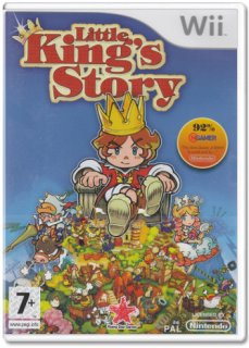 Диск Little King's Story (Б/У) [Wii]