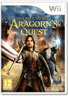 Диск The Lord of the Rings: Aragorn's Quest (Б/У) [Wii]