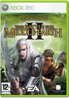 Диск Lord of the Rings: The Battle for Middle-Earth 2 (Б/У) [X360]