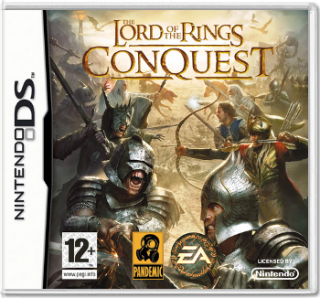 Диск Lord of The Rings: Conquest [DS]