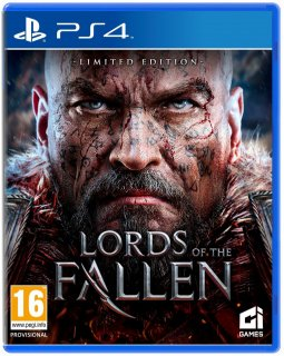 Диск Lords of The Fallen (Б/У) [PS4]