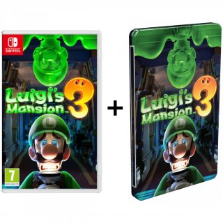Диск Luigi's Mansion 3 + SteelBook (Б/У) [NSwitch]