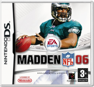 Диск Madden NFL 06 [DS]