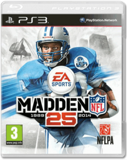Диск Madden NFL 25 [PS3]