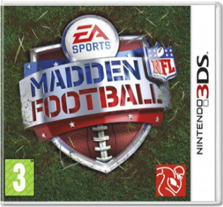Диск Madden NFL Football 3D [3DS]