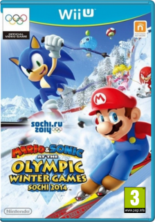 Диск Mario and Sonic at the Sochi 2014: Olympic Winter Games [Wii U]