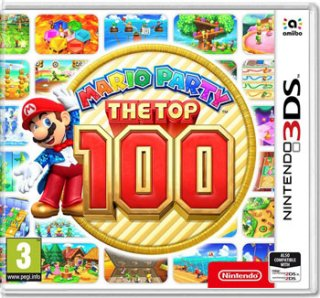 Диск Mario Party: The Top 100 [3DS]