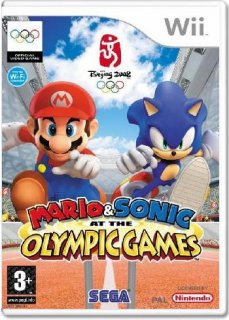 Диск Mario & Sonic at the Olympic Games [Wii]