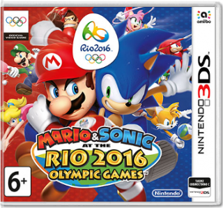 Диск Mario & Sonic at the Rio 2016 Olympics Games [3DS]