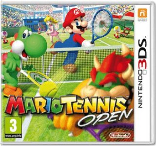 Диск Mario Tennis Open [3DS]