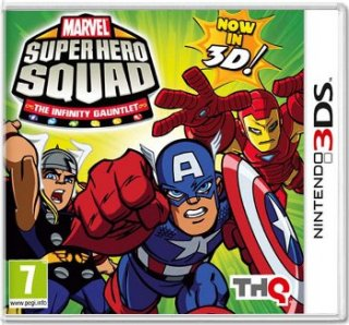 Диск Marvel Super Hero Squad: The Infinity Gauntlet [3DS]